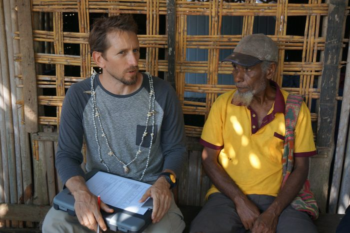 Professor Josh Cinner has recently returned from Papua New Guinea where his research work has focused on finding 'bright spots'