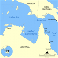 The Gulf of Carpentaria was a heat source to Torres Strait and the Northern Great Barrier Reef during the 2016 mass coral bleaching event