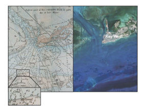 18th century nautical charts reveal coral loss in Florida Keys