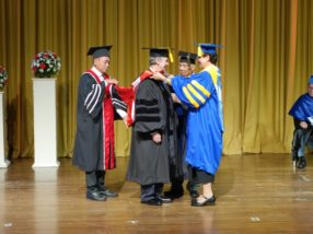 Silliman University confers honorary degree on Prof. Garry Russ