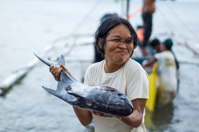 One of the first marine reserves in the Philippines was established at Apo Island. The study found that peer-to-peer communication about the benefits of marine reserve establishment encouraged neighbouring communities to start their own conservation initiatives. Credit: Rebecca Weeks.